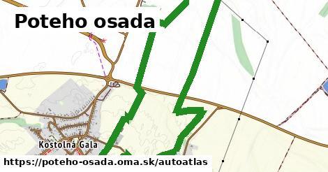 ikona Mapa autoatlas  poteho-osada