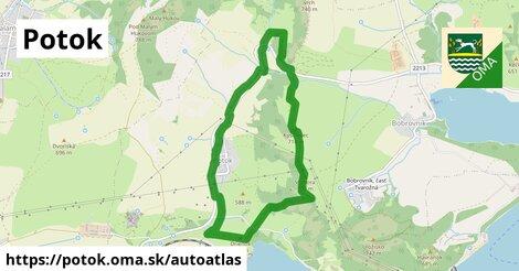 ikona Mapa autoatlas  potok