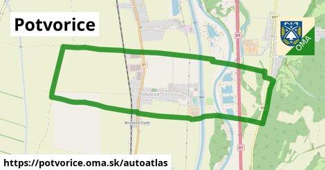 ikona Mapa autoatlas  potvorice