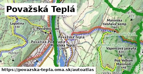 ikona Mapa autoatlas  povazska-tepla