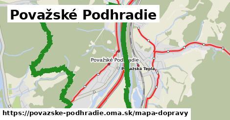 ikona Mapa dopravy mapa-dopravy  povazske-podhradie