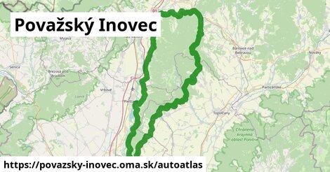 ikona Mapa autoatlas  povazsky-inovec