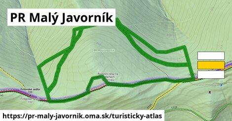 ikona Turistická mapa turisticky-atlas  pr-maly-javornik