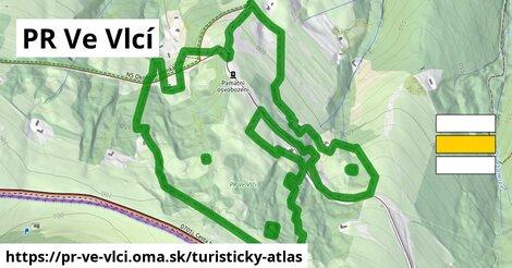 ikona Turistická mapa turisticky-atlas  pr-ve-vlci