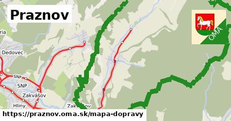 ikona Mapa dopravy mapa-dopravy  praznov