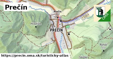 ikona Turistická mapa turisticky-atlas  precin