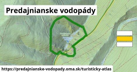 ikona Turistická mapa turisticky-atlas  predajnianske-vodopady