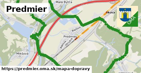 ikona Mapa dopravy mapa-dopravy  predmier