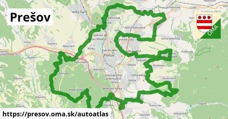 ikona Mapa autoatlas  presov