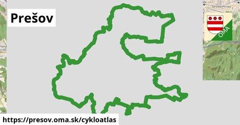 ikona Prešov: 34km trás cykloatlas  presov