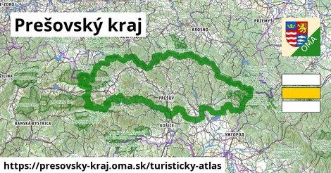 ikona Prešovský kraj: 3441km trás turisticky-atlas  presovsky-kraj