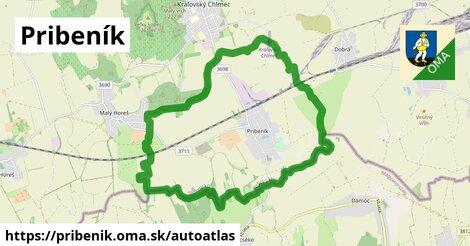 ikona Mapa autoatlas  pribenik
