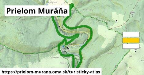 ikona Turistická mapa turisticky-atlas  prielom-murana