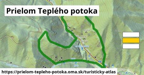 ikona Turistická mapa turisticky-atlas  prielom-tepleho-potoka