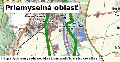 ikona Priemyselná oblasť: 1,13km trás turisticky-atlas v priemyselna-oblast