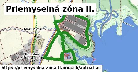 ikona Mapa autoatlas  priemyselna-zona-ii