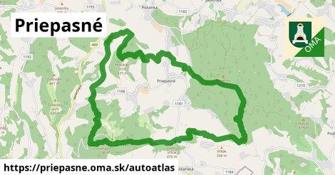 ikona Mapa autoatlas  priepasne