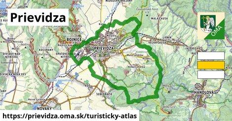 ikona Turistická mapa turisticky-atlas  prievidza