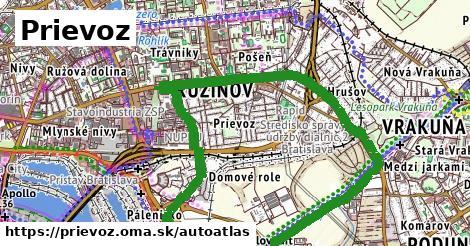 ikona Mapa autoatlas  prievoz