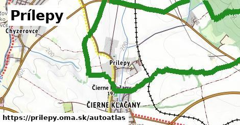 ikona Mapa autoatlas  prilepy