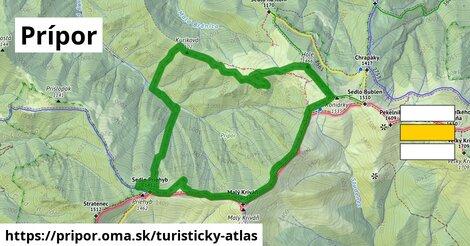 ikona Turistická mapa turisticky-atlas  pripor