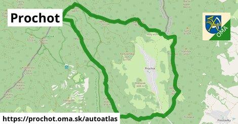 ikona Mapa autoatlas  prochot