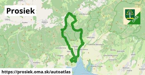 ikona Mapa autoatlas  prosiek