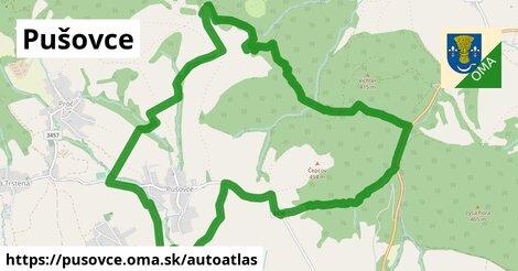 ikona Mapa autoatlas  pusovce