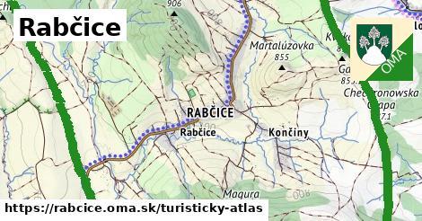 ikona Turistická mapa turisticky-atlas  rabcice