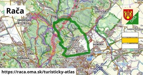 ikona Rača: 29km trás turisticky-atlas  raca