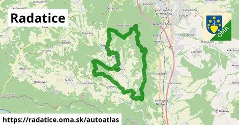 ikona Mapa autoatlas  radatice