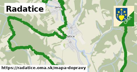 ikona Mapa dopravy mapa-dopravy  radatice