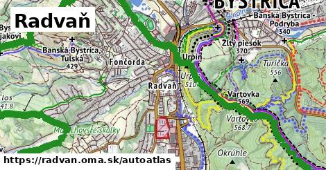 ikona Mapa autoatlas  radvan