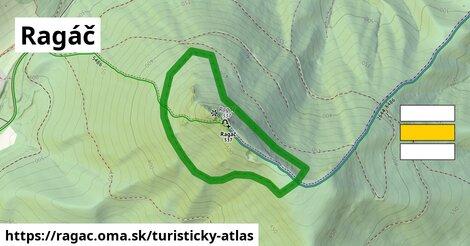 ikona Turistická mapa turisticky-atlas  ragac