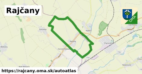 ikona Mapa autoatlas  rajcany