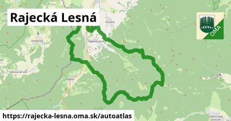 ikona Mapa autoatlas  rajecka-lesna