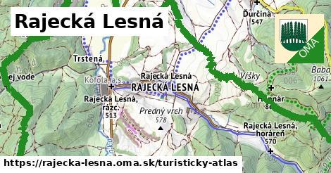 ikona Turistická mapa turisticky-atlas  rajecka-lesna