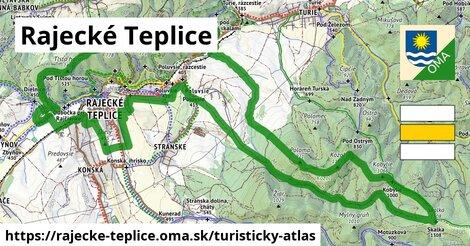 ikona Turistická mapa turisticky-atlas  rajecke-teplice