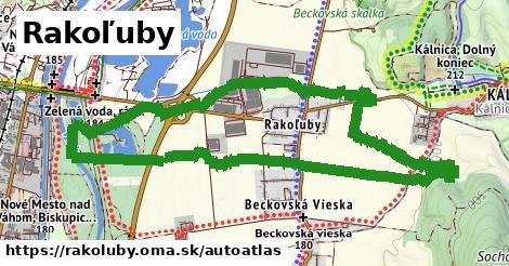 ikona Mapa autoatlas  rakoluby