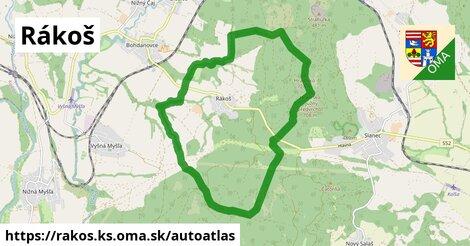 ikona Mapa autoatlas  rakos.ks
