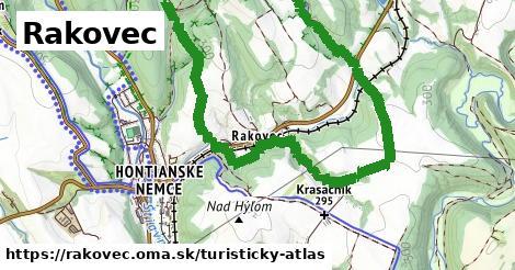 ikona Turistická mapa turisticky-atlas  rakovec