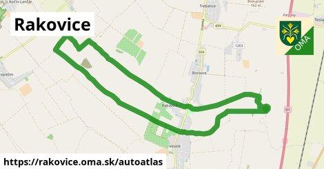 ikona Mapa autoatlas  rakovice