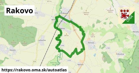 ikona Mapa autoatlas  rakovo