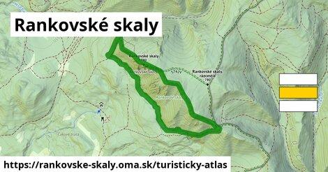 ikona Turistická mapa turisticky-atlas  rankovske-skaly