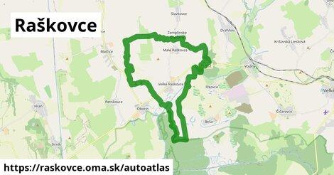 ikona Mapa autoatlas  raskovce
