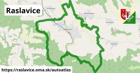 ikona Mapa autoatlas  raslavice