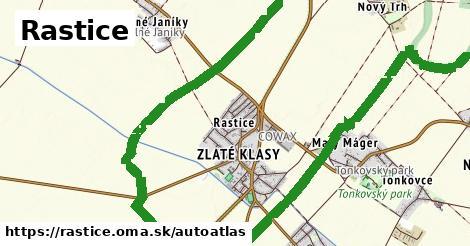 ikona Mapa autoatlas  rastice