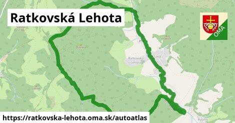 ikona Mapa autoatlas  ratkovska-lehota