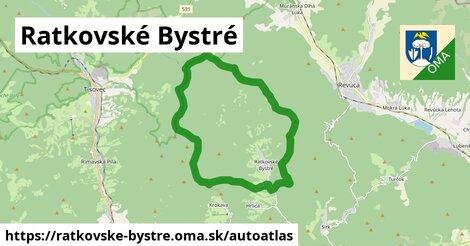 ikona Mapa autoatlas  ratkovske-bystre