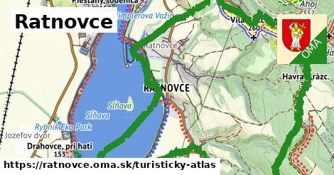 ikona Turistická mapa turisticky-atlas  ratnovce
